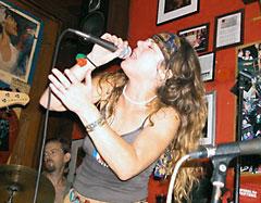 Lani Ramos performs at Apple Barrel