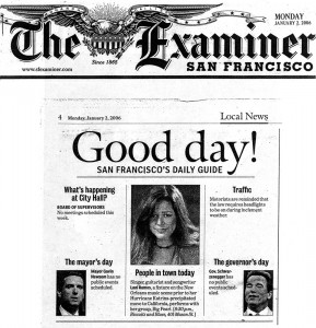 San Francisco Examiner article on Lani Ramos